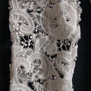 For Love And Lemons Pants & Jumpsuits - FOR LOVE & LEMONS White Crochet Lace Romper XS/S